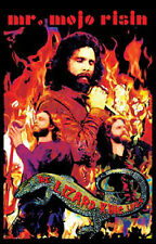 NEW JIM MORRISON THE DOORS PSYCHEDELIC BLACK LIGHT BLACKLITE VELVET  POSTER