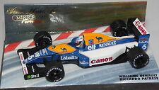 1/43 WILLIAMS RENAULT FW14B RICCARDO PATRESE 1992 BY MINICHAMPS