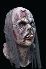 NEW Rotted Old Lady Zombie Biter DELUXE ADULT LATEX PIN UP GIRL MASK W/ HAIR