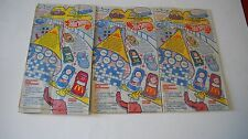 Barbie & Hot Wheels 1993 McDonalds Happy Meal Bags (3 of same bag)a