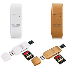 5Gbps MINI Super Speed USB 3.0 Micro SD/SDXC TF Card Reader Adapter Mac OS Pro