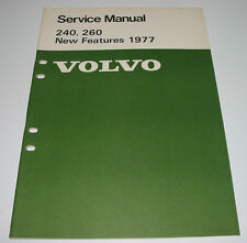 Service Manual Volvo 240 / 260 New Features Engine Electrical Suspension Body!