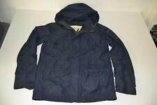ABERCROMBIE FITCH WAKELY NAVY BLUE HOODED JACKET COAT GIRLS SIZE XL