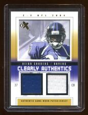 2004 EX DEION SANDERS #D 01/50 GAME WORN PATCH/JERSEY GOLD  RARE  FIRST ONE MADE