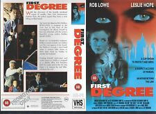 First Degree, Rob Lowe Video Promo Sample Sleeve/Cover #13796