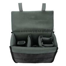 Black Insert Padded Camera Bag Inner Divider Partition Protect Case For DSLR