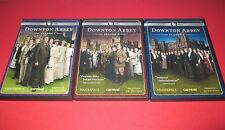 Masterpiece Classic: Downton Abbey  Season 1 2 3 (DVD, 2011) 3 Disc Set FREE S/H