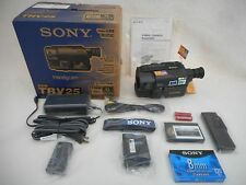 BRAND NEW Sony CCD-TRV25 8mm Camcorder Bundle