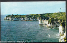Yorkshire Postcard - The Fog Station and Lighthouse, Flamborough Head   RT2133