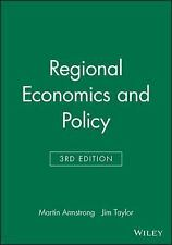 Regional Economics and Policy, Taylor, Jim, Armstrong, Martin, Good Book