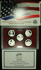 United States Mint, America The Beautiful Quarters Silver Proof Set 2010 S.