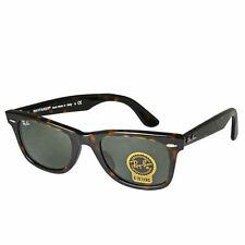 New Wayfarer Classic Ray-Ban RB2140 Shades - Tortoise w/ G-15 Lens (Small 50mm)