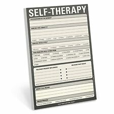Knock Knock Self-Therapy Note Pad