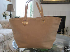 VERSACE PARFUMS TOTE/ BEACH/ HOLIDAY/ HAND BAG NUDE BRAND NEW