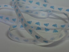 Baby Ribbon - Grosgrain & Satin, Choice of Colour & Style