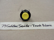 OEM 79 Cadillac Seville POWER TRUNK LOCK RELEASE BUTTON GLOVE BOX MOUNTED
