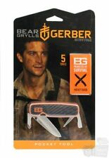 Gerber Bear Grylls Pocket Tool, Survival Series Fine Edge Blade Knife #31-001050