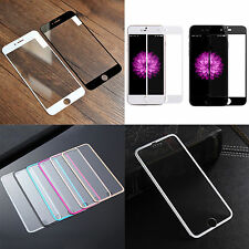 High Full Coverage HD Tempered Glass Film Screen Protector for iPhone 6S White