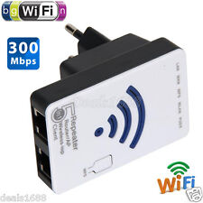 300Mbps Wireless-N Repeater AP Network Router WiFi Extender Booster 802.11b/g/n