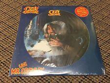 OZZY OSBOURNE LIVE MR. CROWLEY LP RARE U.S. ORIG. 1982 SEALED PICTURE DISC