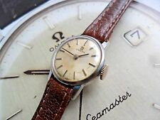 Vintage Lady's 1965 Omega Stainless Steel 17 Jewel Cal 620 Swiss Watch Runs