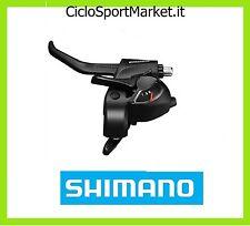 Leva SHIMANO Comando + Freno 3 Velocità (Fili Cambio inclusi) bici MTB City Bike