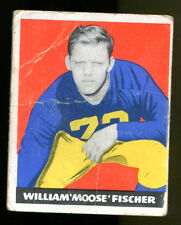 William Moose Fischer 1948 Leaf #7 Notre Dame Fair Condition