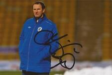HUDDERSFIELD: SIMON GRAYSON SIGNED 6x4 ACTION PHOTO+COA