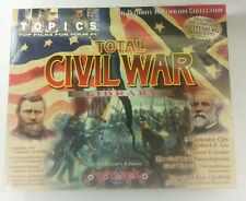 Total Civil War Library by Topics - 5 CD-ROM Collection - Excellent Condition