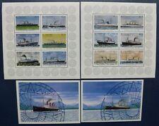 ST. VINCENT 1996 Schiffe Ships Navi Bateaux 3747-58 + Block 400-401 ** MNH