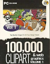 100,000 Clipart & Web Graphics Vol 1 - Black Label Collection (PC CD ROM)