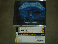 Metallica‎ Ride The Lightning Japan CD