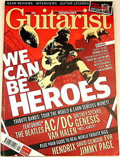 GUITARIST MAGAZINE January 2012 Hendrix Gilmour EVH Jimmy Page Fender Clapton