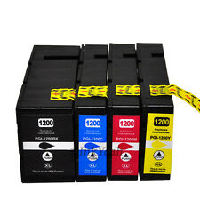 4 pack PGI-1200 XL Ink Cartridges For Canon MAXIFY MB2020 MB2320 MB2050 MB2350