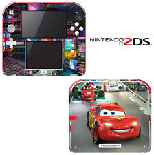 Vinyl Skin Decal Cover for Nintendo 2DS - Racing Cars 2 Lightning McQueen