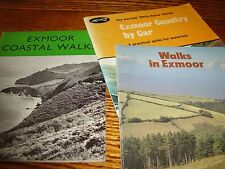 Exmoor - Coast/Walking/By Car booklets/ guides