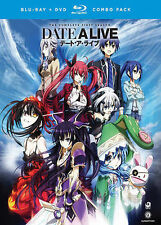 BLU-RAY Date A Live: Complete First Season (Blu-Ray +DVD) NEW FREE SHIPPING!