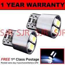 W5W T10 501 CANBUS ERROR FREE XENON WHITE 4 LED SMD SIDELIGHT BULBS X2 SL101905