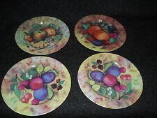 Email De Limoges still life set of 4 salad plates