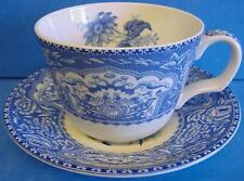 SPODE BLUE ROOM TEACUP TEA CUP & SAUCER FLORAL