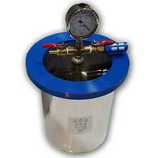 SMO-KING Vacuum Degassing Chamber 1.5 Gallon Stainless Steel - 6.8 Litre