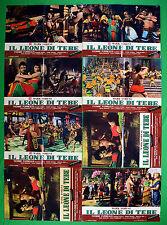 H07 LOTTO FOTOBUSTE IL LEONE DI TEBE STEVE REVEES 2