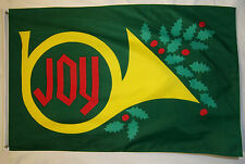 Joy To The World Christmas Flag 3' X 5' Indoor Outdoor Holiday Banner