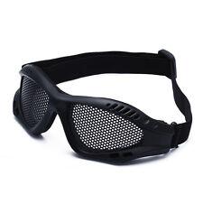 Tactical Military Airsoft Goggle Metal Mesh Shooting Eye Glasses Mask Protection
