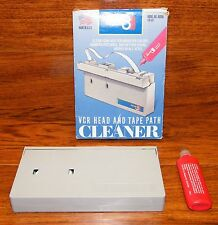 VCR Head & Tape Path Cleaner For Brighter Colors / Works In All VHS Machines!