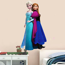 Frozen Elsa & Anna Wall Stickers Decals Removable Art Home Decor Children's Room