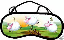 Masque de sommeil cache yeux saute moutons personnalisable REF 22