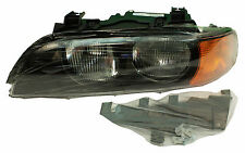 New! BMW (E39) HALOGEN HEADLAMP (LEFT) some 528i 540i (1998-00) TYC 63128385091