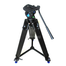 New Pro Video Camera Camcorder Fluid Drag Tripod Benro KH-25N With Carrying Bag