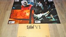 SAW VI  !  jeu photos cinema lobby cards fantastique horreur gore